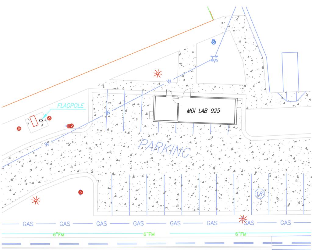 Modular Cath Lab Site Plan